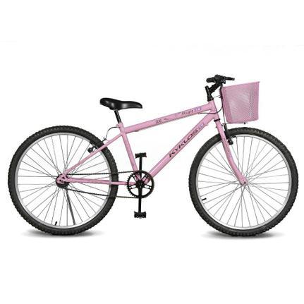 Bicicleta Kyklos Magie Aro 26 Rígida 1 Marcha - Rosa
