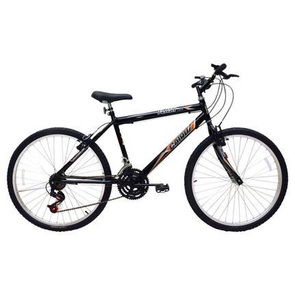 Bicicleta Cairu Flash Pop Aro 26 Rígida 21 Marchas - Vermelho