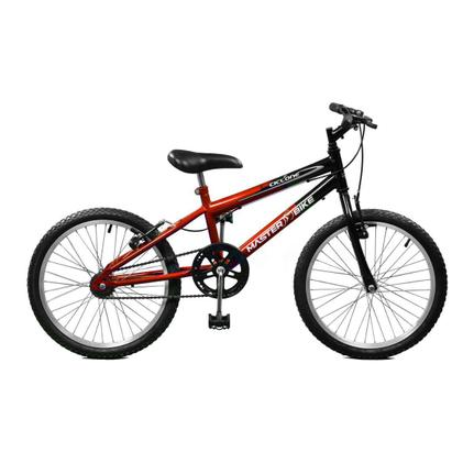 Bicicleta Master Bike Ciclone Plus Aro 20 Rígida 21 Marchas - Preto/vermelho