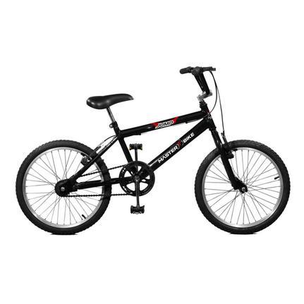 Bicicleta Master Bike Jump Aro 20 Rígida 1 Marcha - Preto