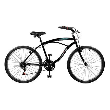 Bicicleta Master Bike Búzios Aro 26 Rígida 21 Marchas - Preto