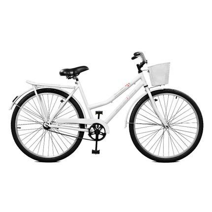 Bicicleta Master Bike Kamilla Cp Aro 26 Rígida 1 Marcha - Branco