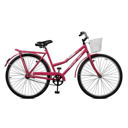 Bicicleta Master Bike Kamilla Cp Aro 26 Rígida 1 Marcha - Rosa