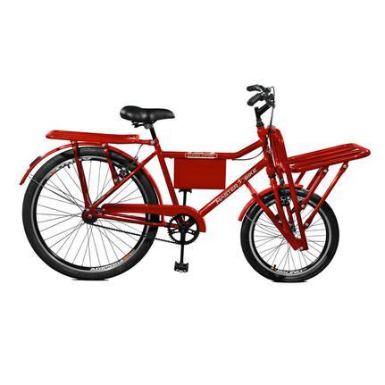 Bicicleta Master Bike Super Cargo Aro 26 Rígida 1 Marcha - Vermelho