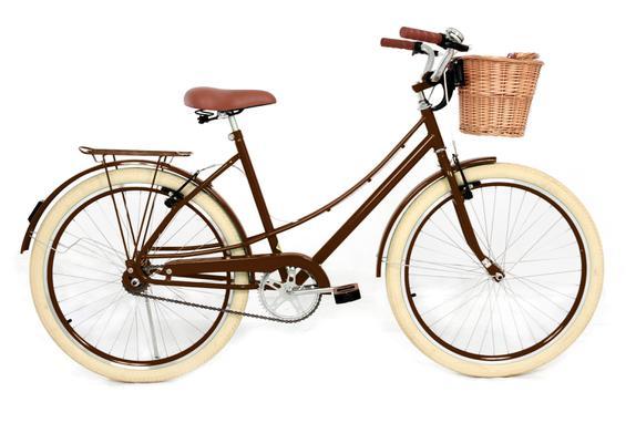 Bicicleta Mobele Bikes Oma Aro 26 Rígida 7 Marchas - Marrom