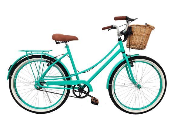 Bicicleta Mobele Bikes Vintage Retrô Aro 700 Rígida 21 Marchas - Azul