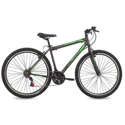 Bicicleta Mormaii Flexus 1.0 Aro 29 Rígida 21 Marchas - Grafite/verde