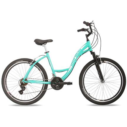 Bicicleta Mormaii Sunset Way Aro 26 Susp. Dianteira 21 Marchas - Verde