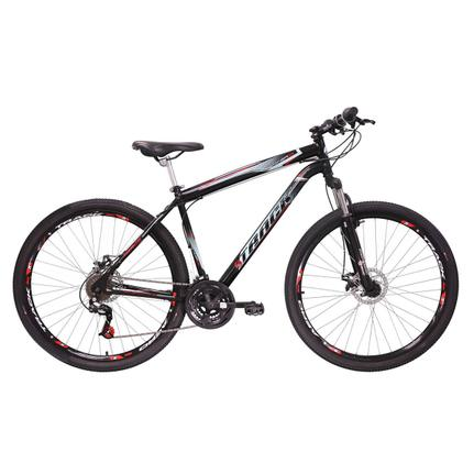 Bicicleta Track&bikes Tb Niner Aro 29 Susp. Dianteira 21 Marchas - Preto