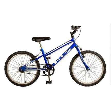 Bicicleta Kls Free Style Aro 20 Rígida 1 Marcha - Azul