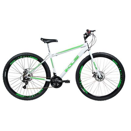 Bicicleta Kls Sport Gold Aro 29 Rígida 21 Marchas - Branco/verde