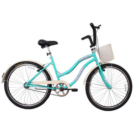 Bicicleta Dalannio Bike Beach Aro 26 Rígida 18 Marchas - Azul