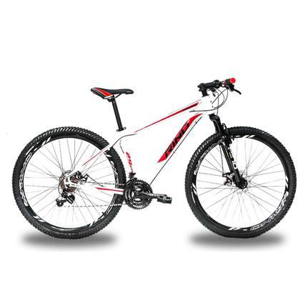 Bicicleta Rino Atacama T21 Aro 29 Susp. Dianteira 24 Marchas - Branco