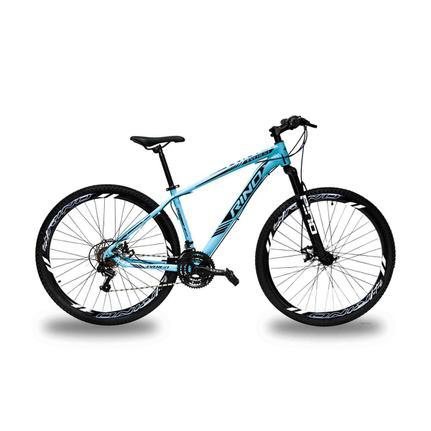 Bicicleta Rino Everest T15 Aro 29 Susp. Dianteira 21 Marchas - Azul
