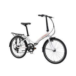 Bicicleta Durban Bike Rio Xl Aro 20 Rígida 6 Marchas - Branco