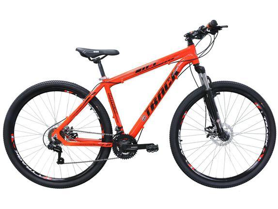 Bicicleta Track&bikes Tk29 Aro 29 Susp. Dianteira 21 Marchas - Laranja
