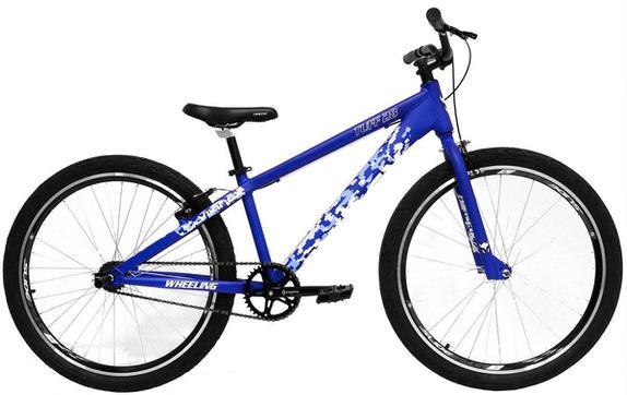 Bicicleta Vikingx Tuff 28 Aro 26 Rígida 1 Marcha - Azul