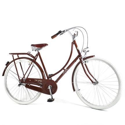Bicicleta Echo Vintage Ícaro Plus Aro 29 Rígida 3 Marchas - Marrom