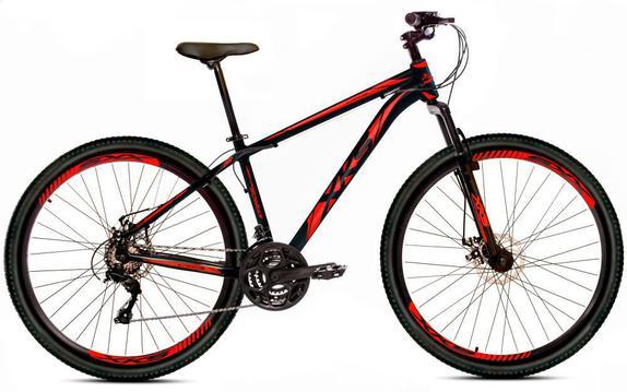 Bicicleta Xks Kairos T19 Aro 29 Susp. Dianteira 21 Marchas - Preto/vermelho