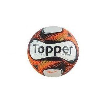9bcefadedf Bola de Futsal Sub 13 Dominator Sem Costura - Topper - Bolas ...