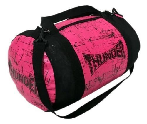 e3b601417 Bolsa feminina esportiva para Academia, Equipamentos de boxe, Muay Thai,  kimono, acessórios fitness - Rosa - Thunder Fight R$ 129,90 à vista