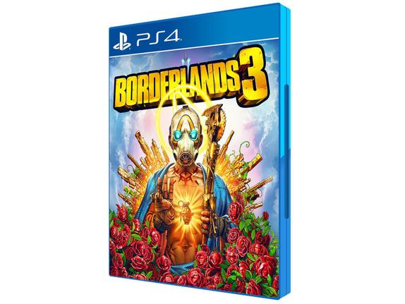 Jogo Borderlands 3 - Playstation 4 - 2k Games