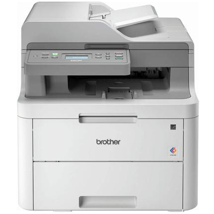 Multifuncional Brother Dcp-l3551cdw Jato de Tinta Colorida Usb, Ethernet e Wi-fi 110v