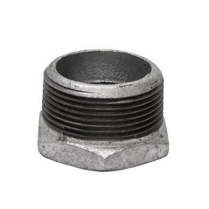 Bucha de Redução Ferro Galvanizado 3/4 X 1/2 -Segurimax