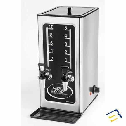 Cafeteira Elétrica Titã Coffe Line Inox 220v