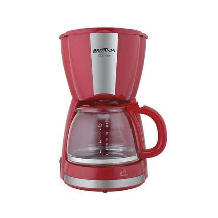 Cafeteira Elétrica Britania Inox Vermelho 220v - Cp30