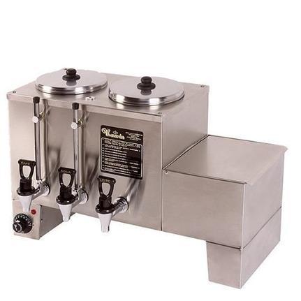 Cafeteira Industrial/comercial Monarcha Conjugada Inox 110v - M52dcle