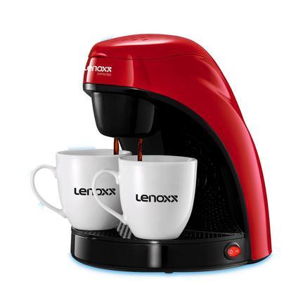 Cafeteira Elétrica Lenoxx Coffee Red Vermelho 110v - Pca 031