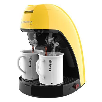 Cafeteira Elétrica Cadence Single Colors Amarelo 220v - Caf114