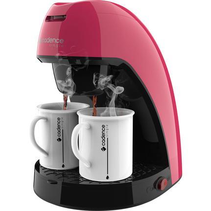 Cafeteira Elétrica Cadence Single Colors Rosa 220v - Caf217