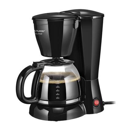 Cafeteira Elétrica Multilaser Gourmet Preto 110v - Be03