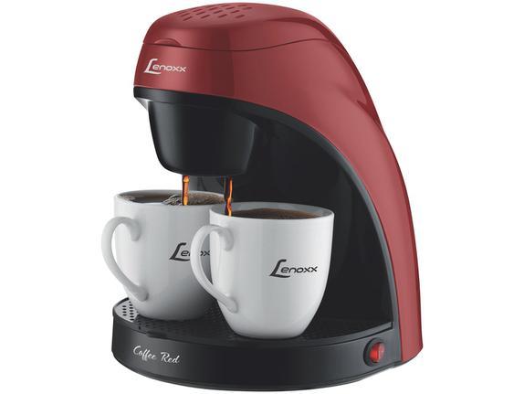 Cafeteira Elétrica Lenoxx Coffee Red Vermelho 220v - Pca 031
