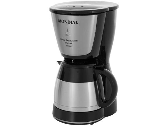 Cafeteira Elétrica Mondial Dolce Arome Thermo Preto 110v - C33