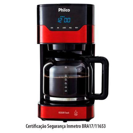 Cafeteira Elétrica Philco Touch Preto 110v - Pcfd38v