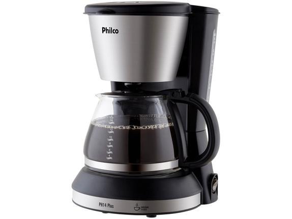 Cafeteira Elétrica Philco Plus Preto 110v - Ph14