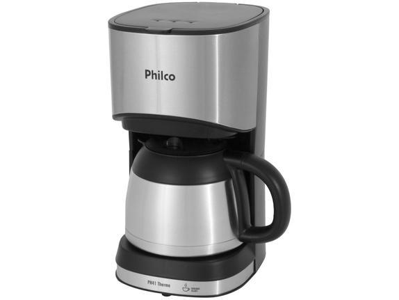 Cafeteira Elétrica Philco Thermo Inox 110v - Ph41
