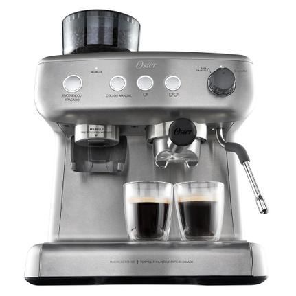 Cafeteira Expresso Oster Xpert Perfect Brew Inox 220v - Bvstem7300 -057