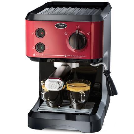 Cafeteira Expresso Oster Cappuccino Vermelho 220v - Bvstecmp65r-057