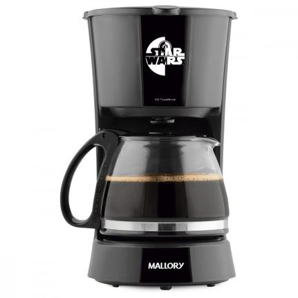 Cafeteira Elétrica Mallory Starwars Preto 220v