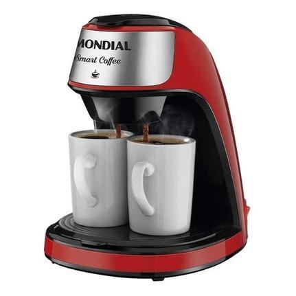 Cafeteira Elétrica Mondial Smart Coffee Vermelho 220v - C-42