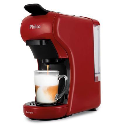 Cafeteira Expresso Philco Vermelho 220v - Pcf19vp