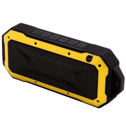 Caixa de Som Dazz Adventure - Amarelo/preto 6014281