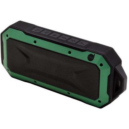 Caixa de Som Dazz Adventure - Preto/verde 6014281