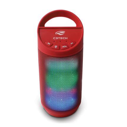 Caixa de Som C3 Tech Vermelho Sp-b50rd