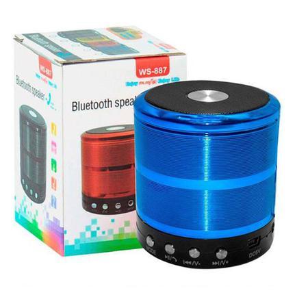 Caixa de Som Grasep Azul D-bh887