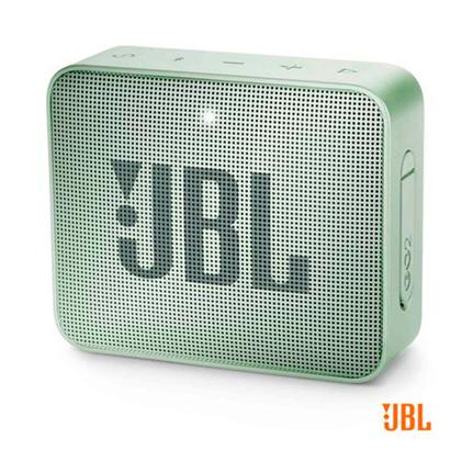 Caixa de Som Jbl Verde Menta Go 2